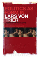 Politics as Form in Lars von Trier Pdf/ePub eBook