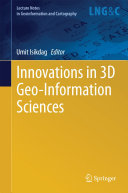 Innovations in 3D Geo Information Sciences