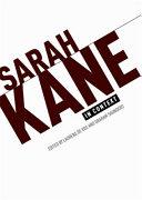 Sarah Kane in Context