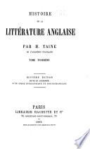 Histoire de la littérature anglaise Pdf/ePub eBook