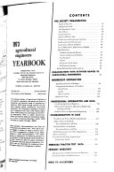 Agricultural Engineers Yearbook Book