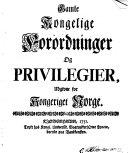Samling af Gamle Norske Love ... i det nu brugelige Dansk Sprog oversatta, og ... oplyvste ... af Hans Paus