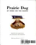 Prarie Dog Book PDF