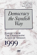 Report from the Democratic Audit of Sweden  1999