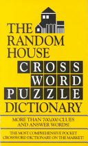 The Random House Crossword Puzzle Dictionary