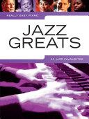 Really Easy Piano: Jazz Greats Pdf/ePub eBook