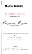 Pdf Fragmenta Regalia