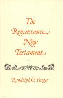 Pdf The Renaissance New Testament Telecharger