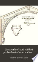 The Architect s and Builder s Pocket book of Mensuration  Geometry     Book