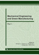 Mechanical Engineering and Green Manufacturing