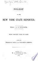 Digest of the New York State Reporter Pdf/ePub eBook