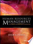 """Human Resources Management for Public and Nonprofit Organizations: A Strategic Approach"" by Joan E. Pynes"