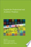 """English for Professional and Academic Purposes"" by Miguel F. Ruiz-Garrido, Juan Carlos Palmer, Inmaculada Fortanet-Gómez"