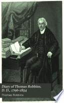 Diary of Thomas Robbins