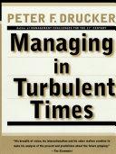 Managing In Turbulent Times [Pdf/ePub] eBook