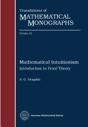 Mathematical Intuitionism