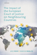 The Impact of the European Court of Justice on Neighbouring Countries Pdf/ePub eBook