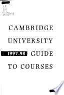 Cambridge University Guide to Courses