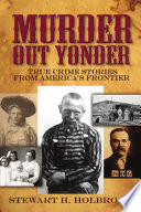 Murder Out Yonder Book