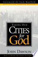 Taking Our Cities For God   Rev