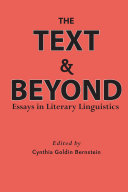 The Text and Beyond