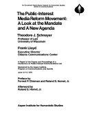 The Public interest Media Reform Movement Book