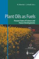 Plant Oils as Fuels