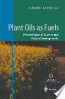 Plant Oils as Fuels Book