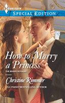 How to Marry a Princess Book