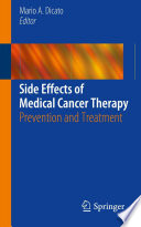 Side Effects of Medical Cancer Therapy Book