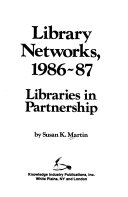 Library Networks, 1986-87