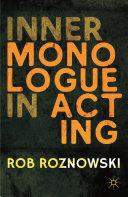 Inner Monologue in Acting Pdf/ePub eBook
