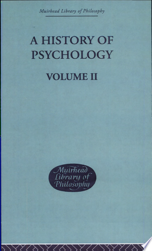 Free Download A History of Psychology PDF - Writers Club