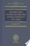 Shares and other securities in the conflict of laws