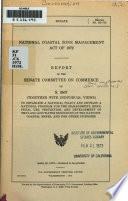 National coastal zone management act of 1972