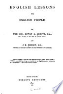 English lessons for English people