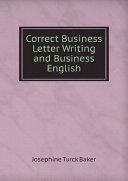 Correct Business Letter Writing and Business English Pdf/ePub eBook