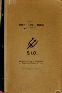 Deck Log Book of the R V Alpha Helix
