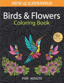 Birds and Flowers Coloring Book
