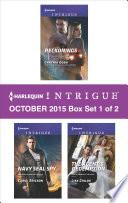 Harlequin Intrigue October 2015 Box Set 1 Of 2