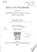 Jesus of Nazareth Book PDF