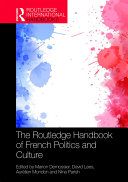 The Routledge Handbook of French Politics and Culture Pdf/ePub eBook