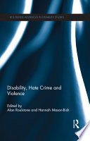 Disability Hate Crime And Violence