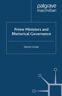 Prime Ministers and Rhetorical Governance [Pdf/ePub] eBook