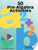 50 Pre Algebra Activities