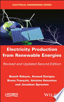 Electricity Production from Renewable Energies Book