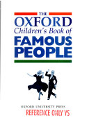 The Oxford Children S Book Of Famous People