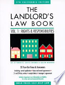 The Landlord's Law Book: Rights and responsibilities