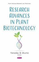 Research Advances in Plant Biotechnology Book