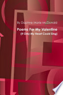Poems For My Valentine(If Only My Heart Could Sing) Pdf/ePub eBook